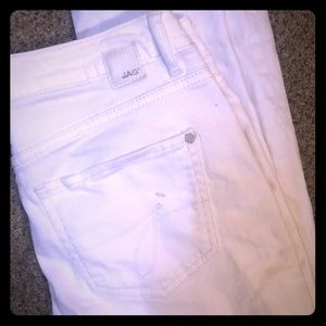 JAG Skinny Jeans Size 2 White Mid Rise Great